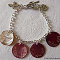 Bracelet de Première Communion du chaîne métal classique