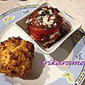 Mini cake italien et tomate mozzarella