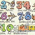 Les nombres allemands - die deutschen zahlen