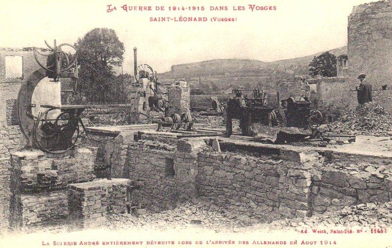 ruines St-Léonard