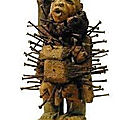 Statuettes d'iroko retenir l'etre aime pour toute sa vie du maitre boko