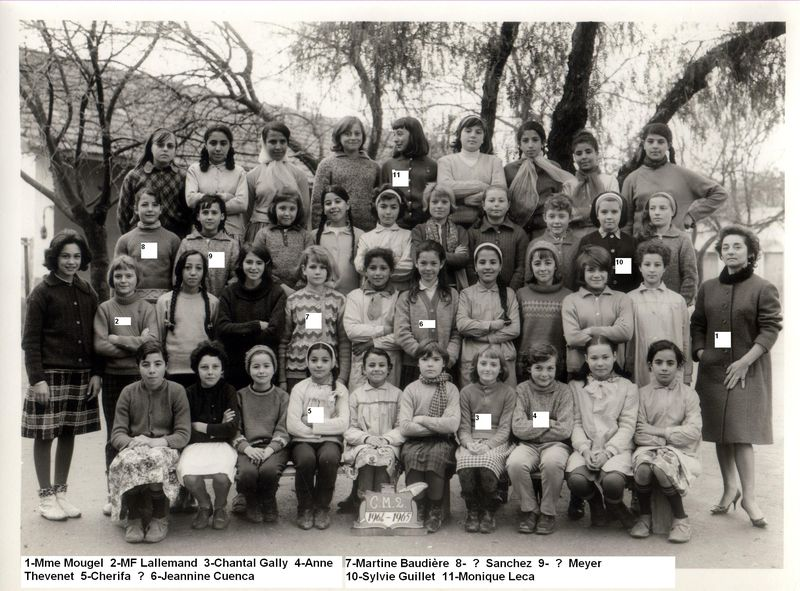 CM2 1964/1965