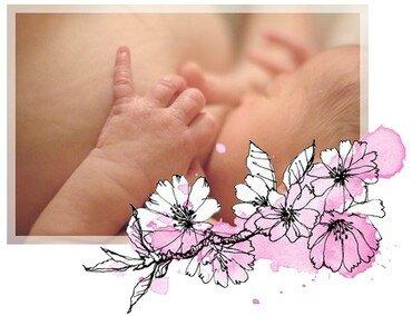 naturo allaitement fleur