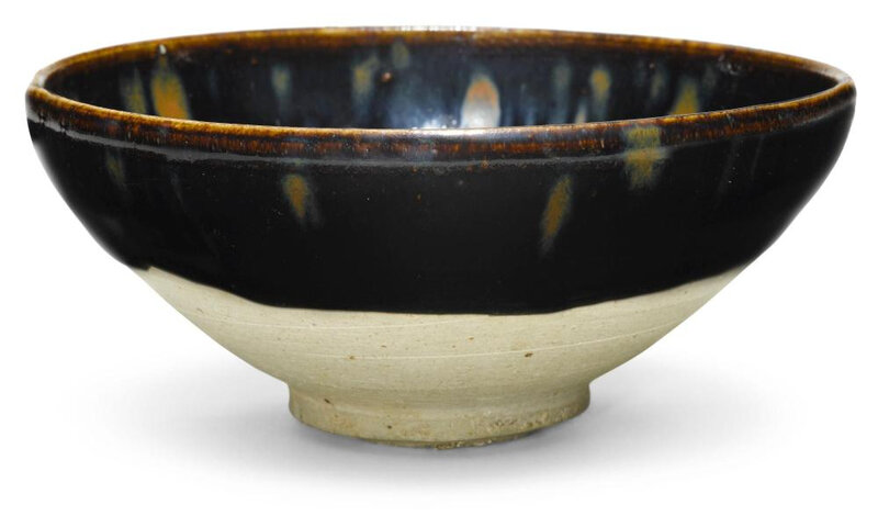 A partridge-feather glazed bowl, NorthernSong-Jin dynasty (960-1234)