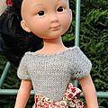 Combinaison pour poupées