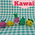 fruits et légumes kawaii