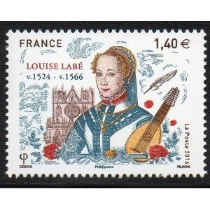 timbre_france_yvert_no_5062_louise_labe_1_