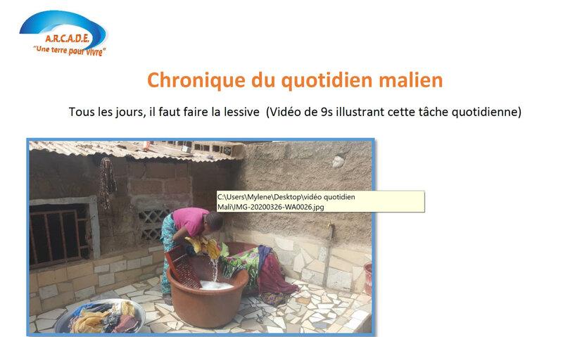 extrait chronique malienne