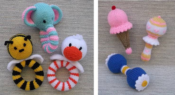 Traduction Baby Rattle Assortment - Lorraine Pistorio