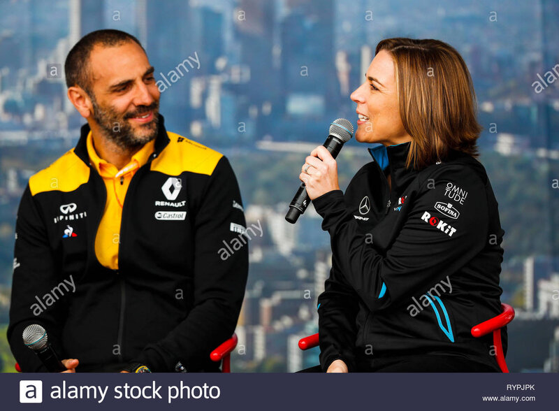 CHINESE F1 2019 CYBRIL ABITBOUL AND CLAIRE