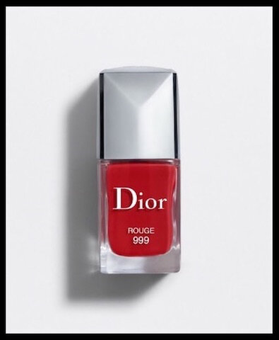 dior collection 999 vernis ongles