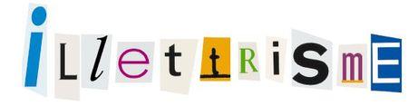 Logo illettrisme seul