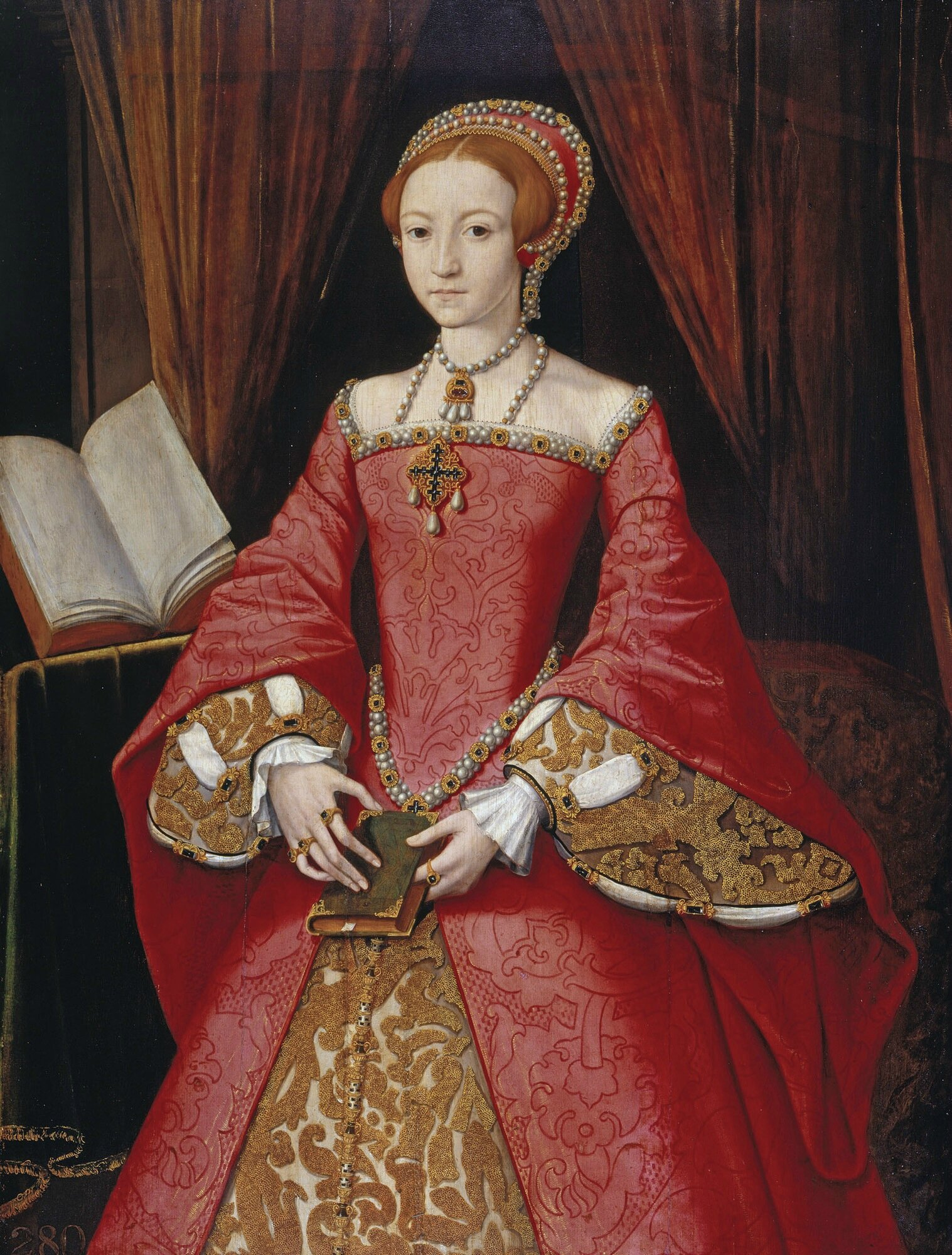 1546 (ca) Elizabeth Ière en Princesse - Windsor collection