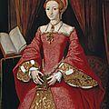1546 (ca) Elizabeth Ière en Princesse - Windsor collection