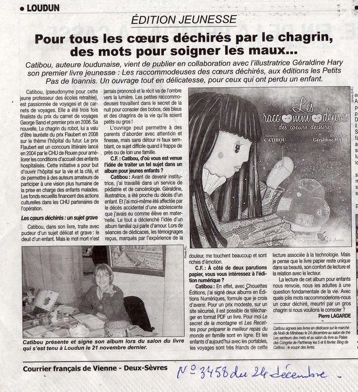 journal ecrit francais