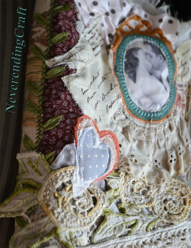 Carnet romantique NeverendingCraft 5