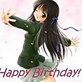 Joyeux anniversaire à ...
