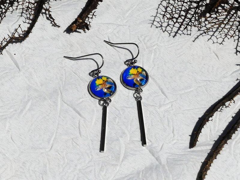 bijoux colores made in guyane par louise indigo tortue bleue (15)