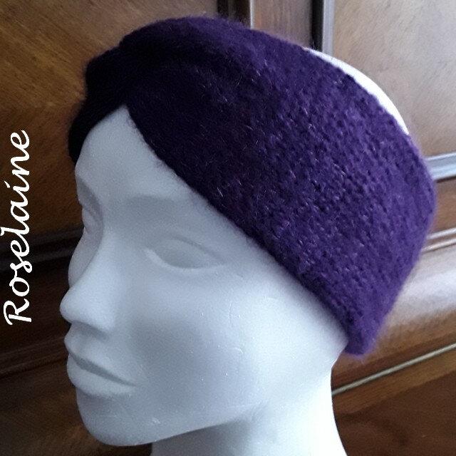 Roselaine Winter Smiles headband by Drops Design 2