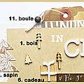 Dt quoi de neuf au poulailler ? - bannière de décembre / december blog banner