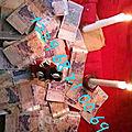 Porte-monnaie mystique d'argent