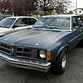 Pontiac ventura 4door sedan - 1977