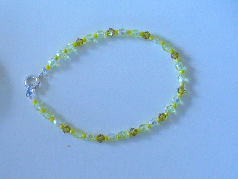 Bracelet simple jaune