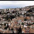 Andalousie , Grenade, Panoramique Albaicín
