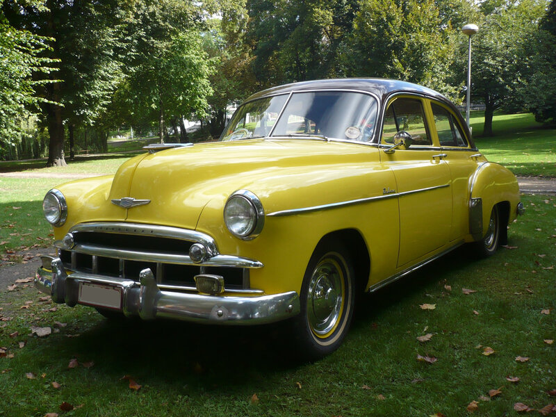CHEVROLET Deluxe 4door Sedan 1949 Liège (1)