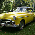 Chevrolet deluxe styleline 4door sedan 1949