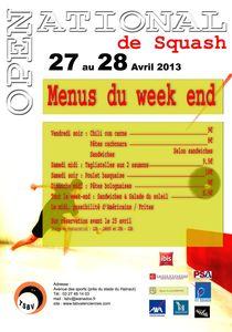open squash 2013 menu apalti copie