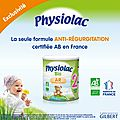 { decouverte } le lait ar bio de physiolac