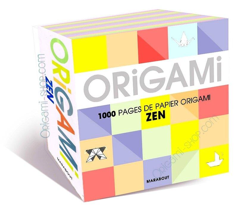 Origami Zen Marabout