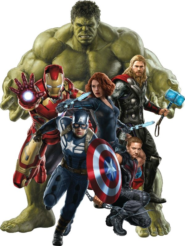 Stickers Avengers ref 15043