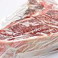 Bien conditionner la viande à surgeler
