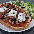 Bruschetta (pour un déjeuner rapide, bon et savoureux)