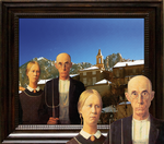 Grant Wood American Gothic Obsession One