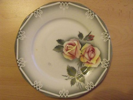 Digoin Sarreguemines - Assiette à dessert Odile (32)