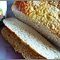 Pain a la purée de pomme de terre (ou pain roll bread) à la main ou à la map