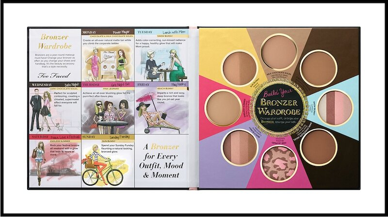 too faced the little black book of bronzers 4