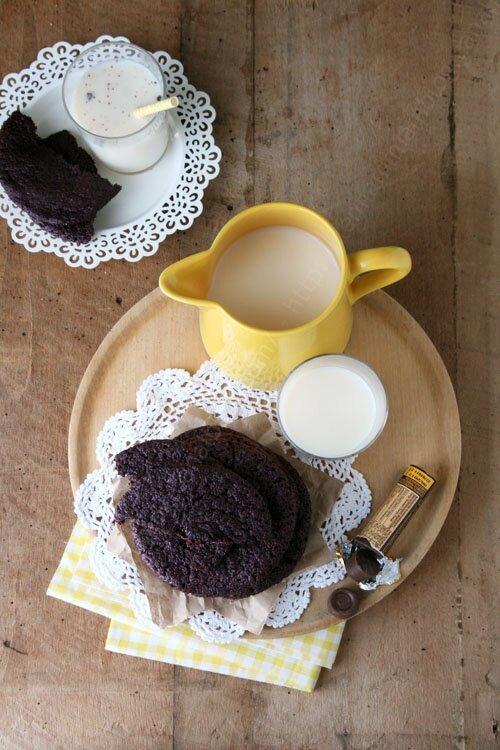 recette de cookies chocolat et icrecream sandwich 00004 LE MIAM MIAM BLOG