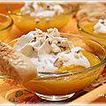 Velouté de courge butternut, chantilly de gorgonzola