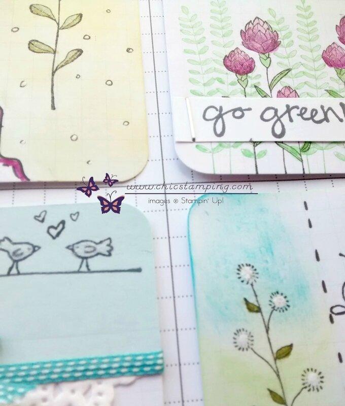 DIY project life card serie Flower Fields sneak peek