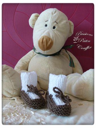 chaussons chocolat