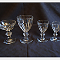 Service en cristal Baccarat Harcourt (Grande-Bretagne - UK)