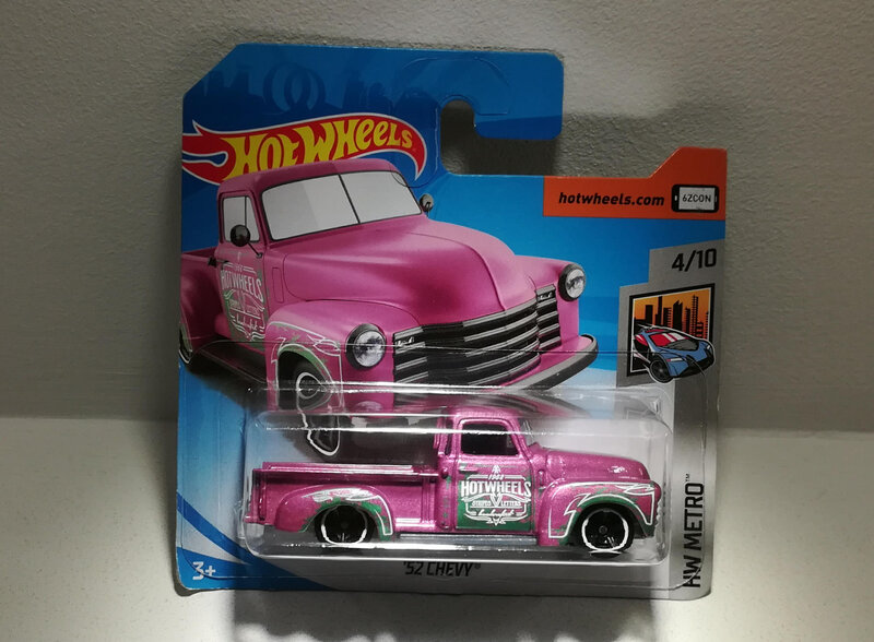 Chevrolet Pick up de 1952 (Hotwheels)