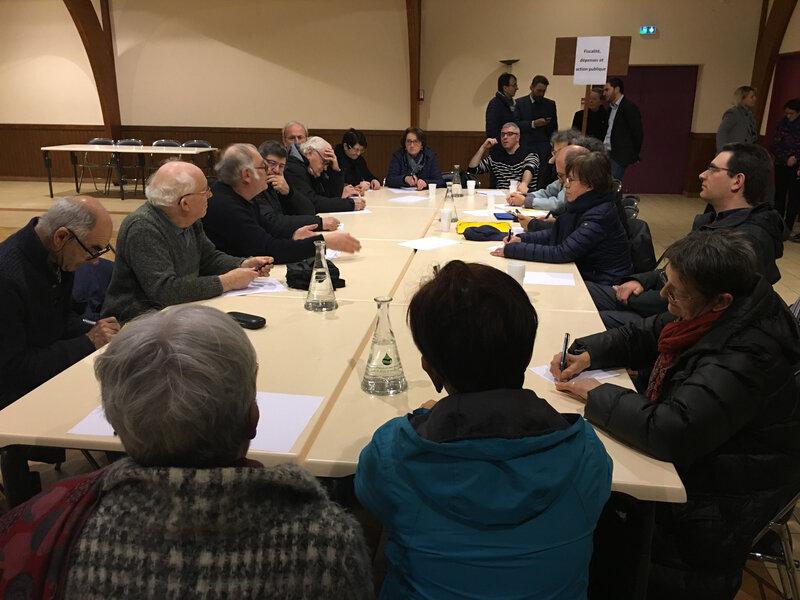 Grand Débat_Grand Débat National_réunion_Saint-Martin-des-Champs_mars_2019