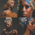 African scarves