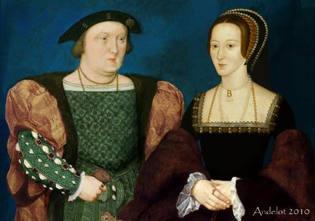 Henri VIII et Anne