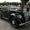 Morris eight series e cabriolet, 1939